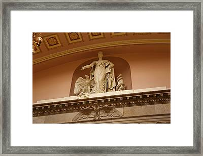 Library Of Congress - Washington Dc - 01132 Framed Print by DC Photographer