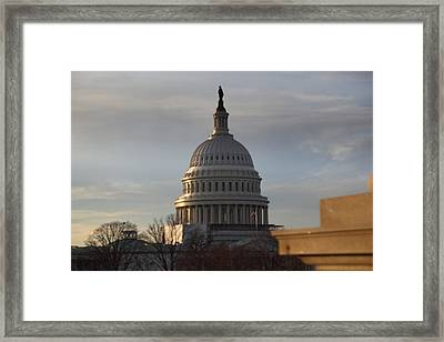 Library Of Congress - Washington Dc - 011320 Framed Print by DC Photographer