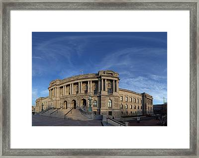 Library Of Congress - Washington Dc - 011324 Framed Print