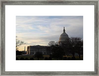 Library Of Congress - Washington Dc - 011325 Framed Print