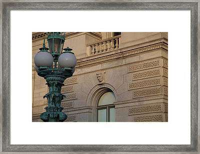 Library Of Congress - Washington Dc - 011327 Framed Print by DC Photographer