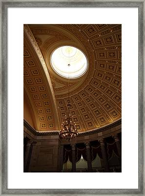 Library Of Congress - Washington Dc - 01133 Framed Print