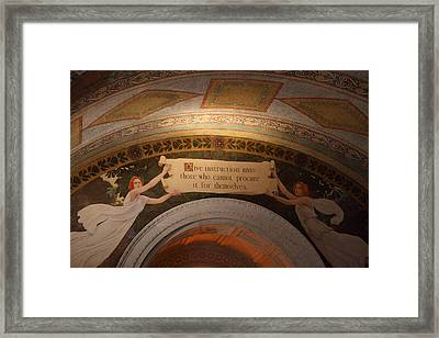 Library Of Congress - Washington Dc - 01135 Framed Print by DC Photographer