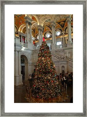 Library Of Congress - Washington Dc - 01138 Framed Print