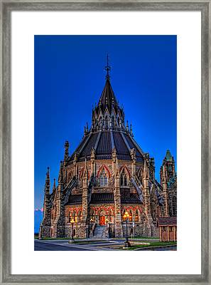 Library Of Parliament Framed Print
