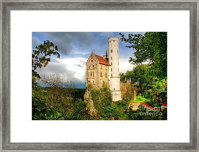 Lichtenstein Castle Swabian Alb Germany Framed Print