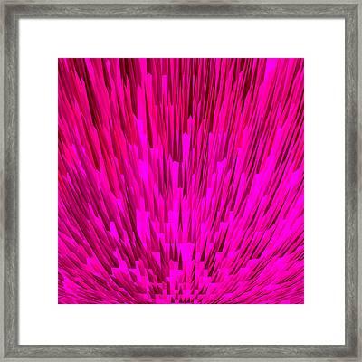 Lichtstrahl Framed Print by Ramon Labusch