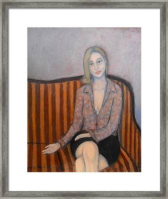 Lie To Me Framed Print by Massimiliano Ligabue