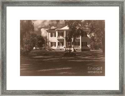Liendo Plantation Home Framed Print