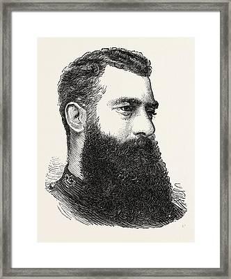 Lieut.-colonel F.w. Festing Framed Print by English School
