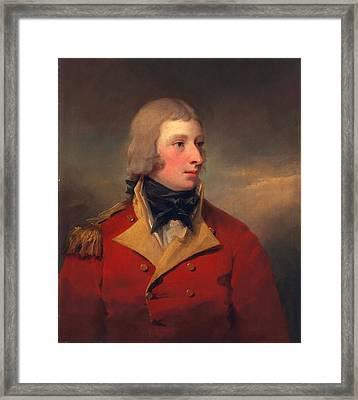 Lieutenant Andrew Agnew, C.1795 Framed Print
