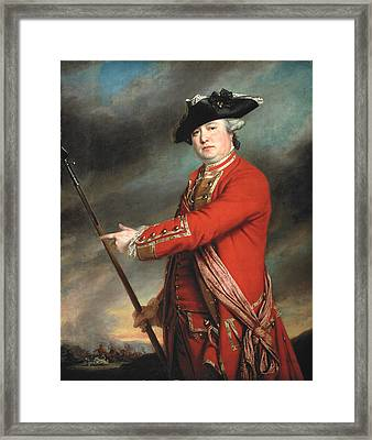 Lieutenant Colonel Francis Smith 1764 Framed Print by Francis Cotes