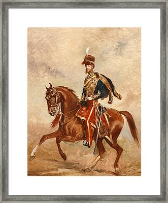 Lieutenant Colonel James Thomas Brudenell  Framed Print by Alfred de Prades