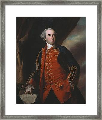 Lieutenant Colonel William Phillips 1764 Framed Print by Francis Cotes