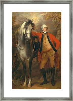 Lieutenant General Edward Ligonier Framed Print by Thomas Gainsborough