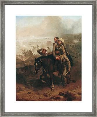 Lieutenant William George Cubitt Framed Print by Chevalier Louis-William Desanges
