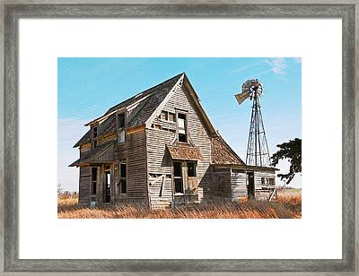 Time To Rest Framed Print by Shirley Heier