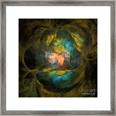 Framed Print featuring the digital art Life After by Arlene Sundby