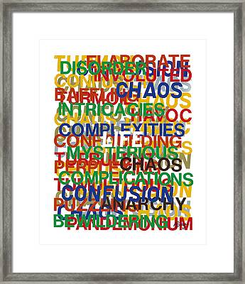 Life Framed Print by Agustin Goba
