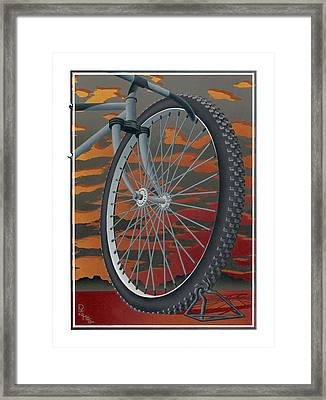 Life Altering Experience Framed Print by Ron Haas