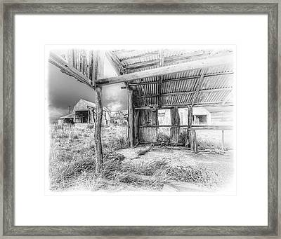 Life As A Shed Framed Print