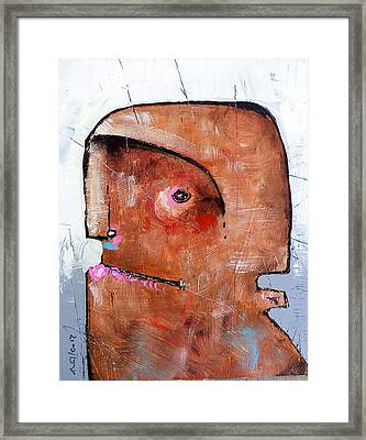 Life As Human No. 35 The Lost Tribe Framed Print by Mark M  Mellon