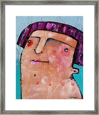 Life As Human No. 36 The Lost Tribe Framed Print by Mark M  Mellon