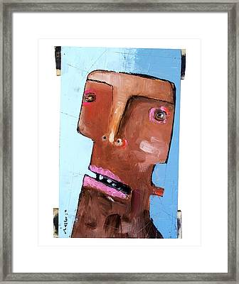Life As Human Number Eighteen Framed Print by Mark M  Mellon