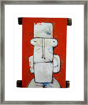 Life As Human Number Ten Framed Print by Mark M  Mellon