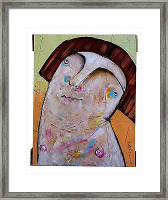Life As Human Number Thirty Two Framed Print