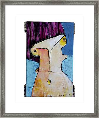 Life As Human Number Twenty Framed Print