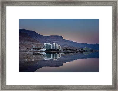 Life At The Dead Sea Framed Print