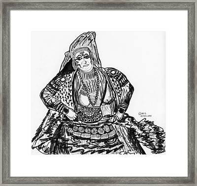 Life Consort Framed Print by Vaidya Selvan