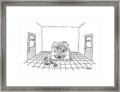 'life Cycle' Framed Print