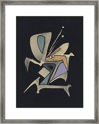 Life Dance Framed Print