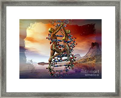 Life Dance Framed Print by Shadowlea Is
