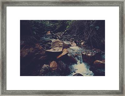 Life Flows On Framed Print by Laurie Search