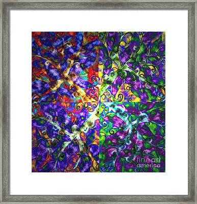Life Force By Jrr Framed Print