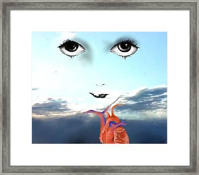 Life Force Framed Print by Corina Bishop