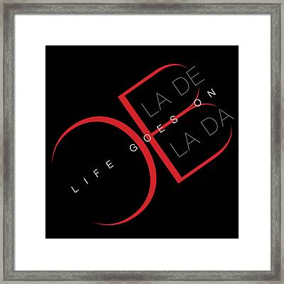 Life Goes On 2 Framed Print by Stephen Anderson