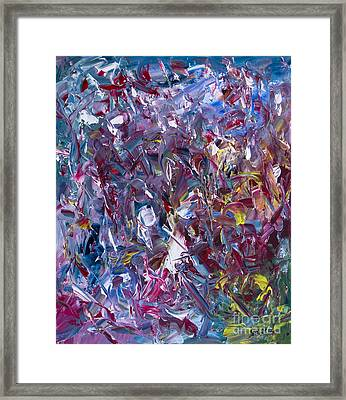 A Thousand And One Paintings Framed Print