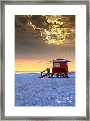 Life Guard 1 Framed Print by Marvin Spates