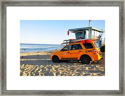 Life Guard  Framed Print by Gandz Photography