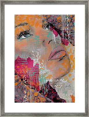 Life Has Layers Framed Print by P J Lewis