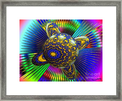 Life In A Bottle Framed Print by Bobby Hammerstone