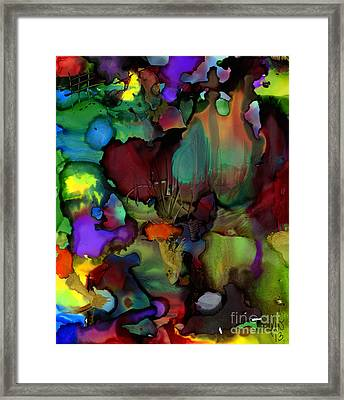 Life In Another World Framed Print by Angela L Walker