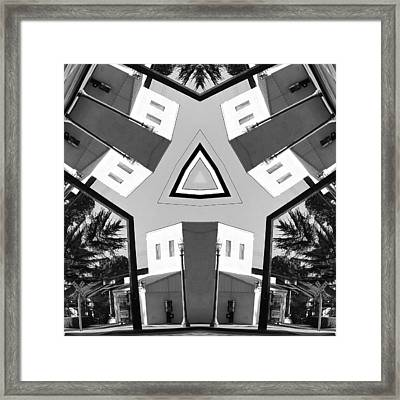 Life In Balance Framed Print