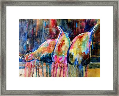 Life In Color Framed Print