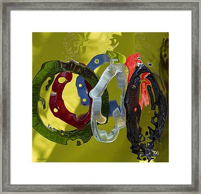 Life In Motion  Framed Print by Haleh Mahbod