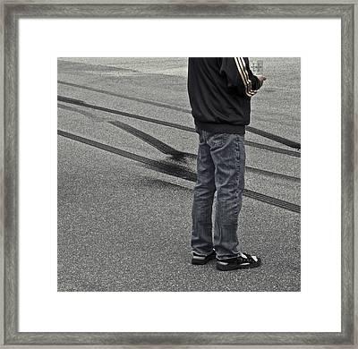 Life In The Fast Lane Framed Print by Odd Jeppesen